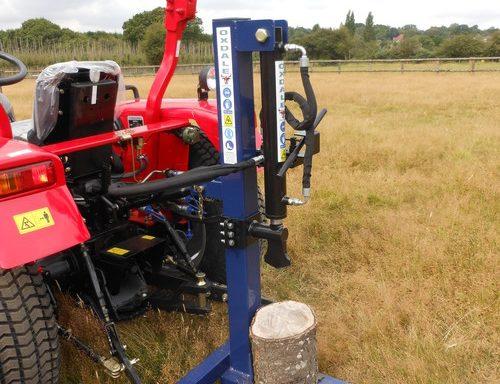 British Log Splitter B-LS400 10tn ram