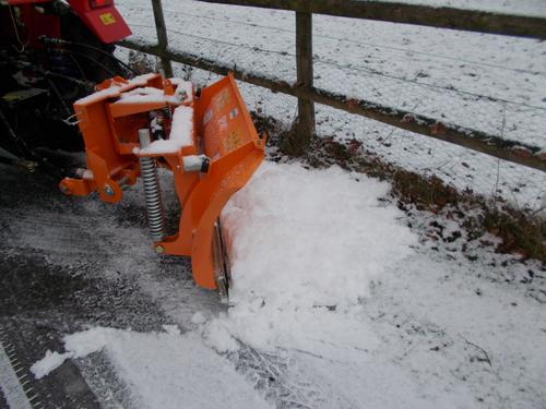 Hydraulic Scraper & Snow Plough SP160 1.6m wide