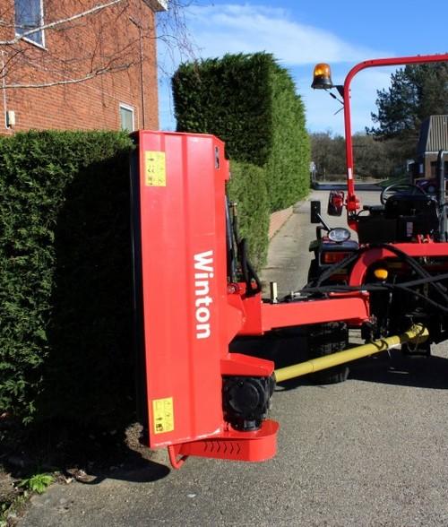 Winton Hydraulic Verge Flail Mower WVF130 1 3m wide - Farm Tech Supplies  North